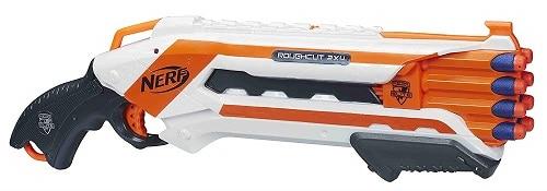 Escopeta Nerf Elite Rough Cut