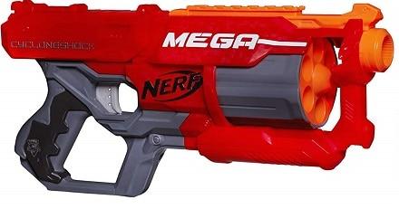 Escopeta Nerf Mega Cyclone
