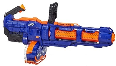 Nerf minigun Elite Titan CS 50