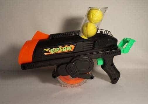 Primera pistola Nerf