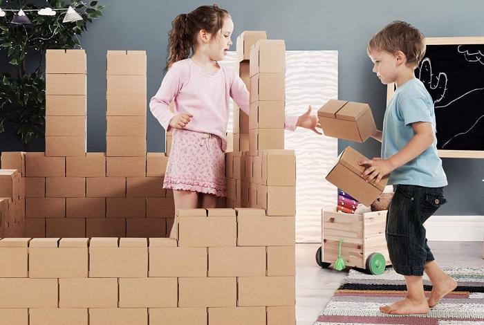 Cómo hacer un fuerte para niños